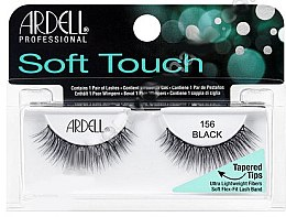 Парфюми, Парфюмерия, козметика Изкуствени мигли - Ardell Soft Touch Eye Lashes Black 156