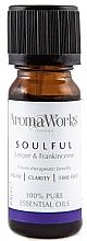 Парфюмерия и Козметика Етерично масло от хвойна и тамян - AromaWorks Soulful Essential Oil