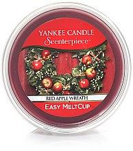 Парфюми, Парфюмерия, козметика Ароматен восък - Yankee Candle Red Apple Wreath Scenterpiece Melt Cup