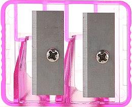 Парфюмерия и Козметика Двойна острилка за моливи, 2199, светлорозова - Top Choice