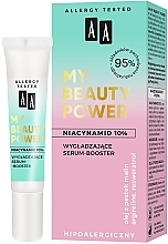 Парфюмерия и Козметика Изглаждащ серум-бустер за лице - AA My Beauty Power Niacinamide 10% Smoothing Serum-Booster