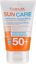 Парфюмерия и Козметика Слънцезащитен крем SPF 50+ - Floslek Sun Protection Tinder Cream SPF50+