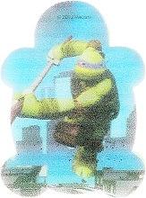 """Парфюмерия и Козметика Детска гъба за баня """"Костенурките нинджа"""" Леонардо 4 - Suavipiel Turtles Bath Sponge"""