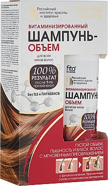 "Витаминизиран шампоан-обем за всякакъв тип коса ""Здрава коса"" - Fitokosmetik"