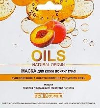Парфюми, Парфюмерия, козметика Супер подхранваща и възстановяваща маска за околоочния контур - BelKosmex Oils Natural Origin