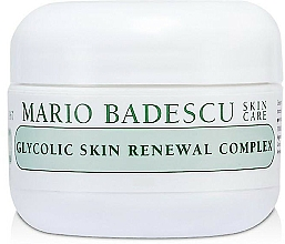 Парфюмерия и Козметика Възстановяващ крем за лице - Mario Badescu Glycolic Skin Renewal Complex