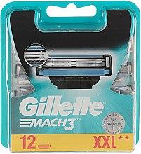 Парфюми, Парфюмерия, козметика Сменяеми ножчета за бръснене, 12 бр. - Gillette Mach3