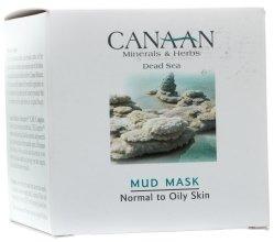 Парфюмерия и Козметика Кална маска за нормална и мазна кожа - Canaan Minerals & Herbs Mud Mask Normal to Oily Skin