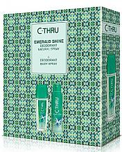 Парфюми, Парфюмерия, козметика C-Thru Emerald Shine - Комплект (дезодорант/150ml + спрей за тяло/75ml)