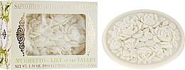 "Парфюмерия и Козметика Натурален сапун ""Момина сълза"" - Saponificio Artigianale Fiorentino Botticelli Lily Of The Valley Soap"