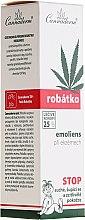 Парфюми, Парфюмерия, козметика Омекотяващ крем и грижа за чувствителната детска кожа с поява на атопичен дерматит и екзема - Cannaderm Robatko Emoliens Cream