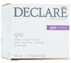 Парфюмерия и Козметика Подмладяващ крем с коензим Q10 - Declare Q10 Age Control Cream