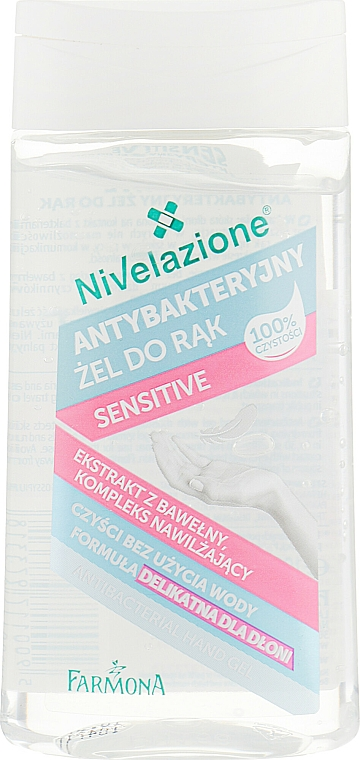 Антибактериален гел за ръце - Farmona Sensitive