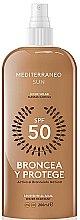 Парфюми, Парфюмерия, козметика Спрей за тен - Mediterraneo Sun Suntan Lotion SPF50