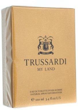 Trussardi My Land - Комплект (edt/100ml + sh/g/100ml + bag) — снимка N3
