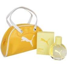 Парфюмерия и Козметика Puma Yellow Woman - Комплект (edt 40ml + чанта)
