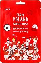Парфюми, Парфюмерия, козметика Хидратираща и успокояваща маска за лице - Skin79 Fan Of Poland Beauty Mask