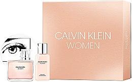 Парфюми, Парфюмерия, козметика Calvin Klein Women - Комплект (парф. вода/100ml + лосион за тяло/100ml)