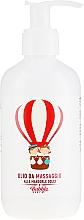 Парфюмерия и Козметика Натурално детско масажно масло за тяло - Bubble&CO