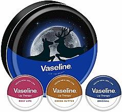 Парфюмерия и Козметика Комплект балсами за устни - Vaseline Lip Therapy Selection (balm/3x20g)