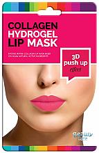 Парфюмерия и Козметика Колагенова маска за устни - Beauty Face 3D Push-Up Collagen Hydrogel Lip Mask