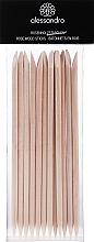 Парфюмерия и Козметика Дървени пръчици за избутване на кожички - Alessandro International Rose Wood Sticks