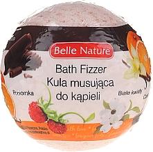Парфюмерия и Козметика Бомбичка за вана, оранжева - Belle Nature