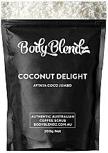 """Парфюми, Парфюмерия, козметика Скраб за тяло """"Кокос"""" - Body Blendz Coconut Delight Scrub"""