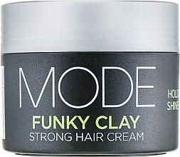 Парфюмерия и Козметика Крем за обем със силна фиксация - Affinage Mode Funky Clay