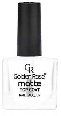 Матов топ лак - Golden Rose Matte Top Coat — снимка N1