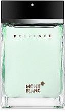 Парфюмерия и Козметика Montblanc Presence - Тоалетна вода