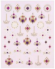 Парфюмерия и Козметика Лепенки за нокти - Peggy Sage Decorative Nail Stickers Luxury (1бр)