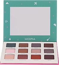 Парфюмерия и Козметика Палитра сенки за очи - Moira Happy Go, Fly, Travel Shadow Palette