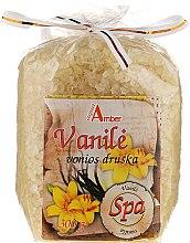 Парфюми, Парфюмерия, козметика Соли за вана с аромат на ванилия - Aqua Amber Spa