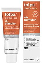 Парфюми, Парфюмерия, козметика Нощен крем за лице - Tolpa Dermo Face Stimular 40+ Night Cream