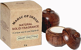 """Парфюми, Парфюмерия, козметика Натурален парфюмен крем с аромат на зелен чай и пъпеш """"Heart Erection"""" - Shamasa"""