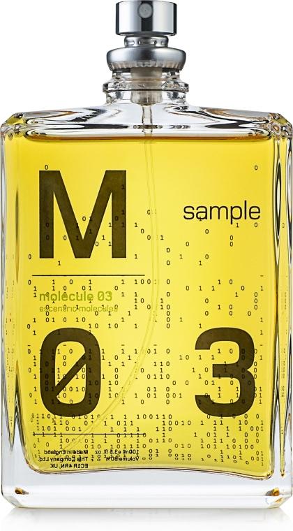Escentric Molecules Molecule 03 - Тоалетна вода (тестер)