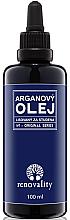 Парфюмерия и Козметика Арганово масло за коса - Renovality Original Series Argan Oil