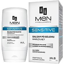 Парфюмерия и Козметика Балсам след бръснене - AA Men Sensitive Moisturizing After-Shave Balm
