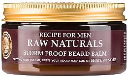 Парфюмерия и Козметика Балсам за брада - Recipe For Men RAW Naturals Storm Proof Beard Balm