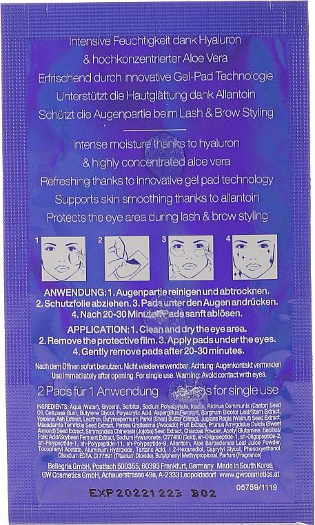 Пачове за очи - RefectoCil Eye Care Pads (тестер) — снимка N3