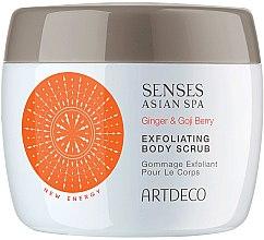 Парфюми, Парфюмерия, козметика Ексфолиращ скраб за тяло - Artdeco Senses Asian Spa Ginger&Goji Berry Exfoliating Body Scrub