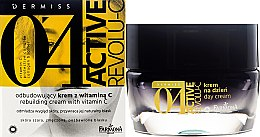 Парфюми, Парфюмерия, козметика Ревитализиращ крем за лице с витамин С - Farmona Dermiss 0'4 Active Revolu-C