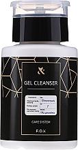 Парфюмерия и Козметика Течност за премахване на лепкав слой от гел лак - F.O.X Gel Cleanser Care System