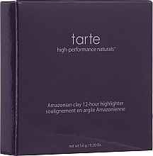 Парфюмерия и Козметика Хайлайтър - Tarte Cosmetics Amazonian Clay 12-hour Highlighter