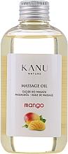 """Парфюмерия и Козметика Масажно масло """"Манго"""" - Kanu Nature Mango Massage Oil"""