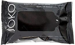 Парфюми, Парфюмерия, козметика Мицеларни кърпички за почистване на лице с активен въглен - Joko Micellar