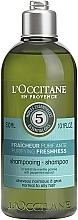 Парфюмерия и Козметика Освежаващ шампоан за коса - L'Occitane Aromachologie Purifying Freshness Hair Shampoo