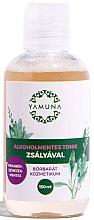 Парфюмерия и Козметика Тоник за лице с ектракт от градински чай - Yamuna Alcohol-Free Toner With Sage ingredients