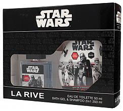 Парфюми, Парфюмерия, козметика La Rive Star Wars First Order - Комплект (тоал. вода/50ml + душ гел 2в1/250ml)